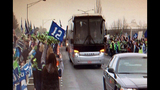 PHOTOS: Seahawks fans gather to send off team - (11/12)