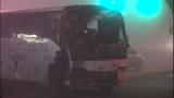 PHOTOS: Bus punches through Burien building - (2/21)
