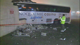 PHOTOS: Bus punches through Burien building - (4/21)
