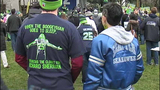 PHOTOS: 12th Man goes crazy at Seahawks rally - (1/25)