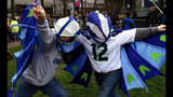 PHOTOS: 12th Man goes crazy at Seahawks rally - (9/25)