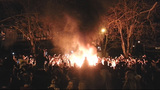 PHOTOS: Fires and rioting in Seattle after SB48 win - (14/25)