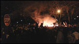 PHOTOS: Fires and rioting in Seattle after SB48 win - (13/25)