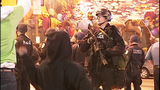 PHOTOS: Riot police sweep Pioneer Square - (11/11)