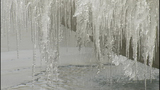 PHOTOS: Frozen fountains turn to icy sculptures - (9/12)