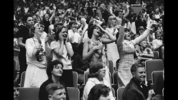 Fans at the Beatles concert in Seattle, Aug. 21, 1964.