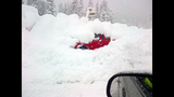 PHOTOS: Snow closes mountain passes Monday morning - (12/16)