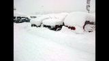 PHOTOS: Snow closes mountain passes Monday morning - (2/16)