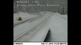 PHOTOS: Snow closes mountain passes Monday morning - (9/16)