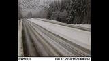PHOTOS: Snow closes mountain passes Monday morning - (11/16)