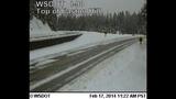 PHOTOS: Snow closes mountain passes Monday morning - (3/16)