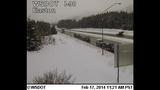 PHOTOS: Snow closes mountain passes Monday morning - (4/16)