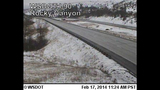 PHOTOS: Snow closes mountain passes Monday morning - (8/16)