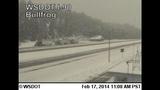 PHOTOS: Snow closes mountain passes Monday morning - (5/16)