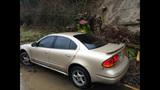 PHOTOS: Mudslide slams into woman's car - (3/4)