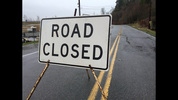 West Valley Highway was closed near Ellingson Road.