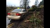 PHOTOS: Mudslide slams into woman's car - (2/4)