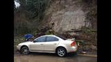 PHOTOS: Mudslide slams into woman's car - (4/4)