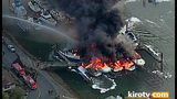 PHOTOS: Multiple boats engulfed by flames in… - (10/25)