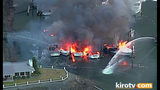 PHOTOS: Multiple boats engulfed by flames in… - (9/25)