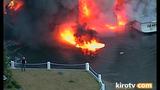 PHOTOS: Multiple boats engulfed by flames in… - (5/25)