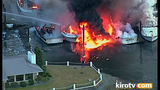 PHOTOS: Multiple boats engulfed by flames in… - (14/25)