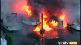 PHOTOS: Multiple boats engulfed by flames in… - (3/25)