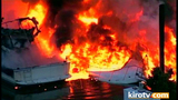 PHOTOS: Multiple boats engulfed by flames in… - (25/25)