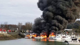 PHOTOS: Multiple boats engulfed by flames in… - (22/25)
