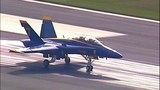 PHOTOS: Blue Angel Jet #7 arrives in Seattle - (7/18)