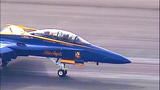 PHOTOS: Blue Angel Jet #7 arrives in Seattle - (1/18)