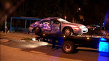 PHOTOS: 2 arrested, cars crunched in double DUI crash - (2/18)