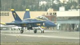 PHOTOS: Blue Angel Jet #7 arrives in Seattle - (5/18)
