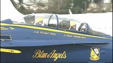 PHOTOS: Blue Angel Jet #7 arrives in Seattle - (3/18)