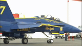 PHOTOS: Blue Angel Jet #7 arrives in Seattle - (2/18)