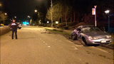 PHOTOS: 2 arrested, cars crunched in double DUI crash - (4/18)