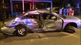 PHOTOS: 2 arrested, cars crunched in double DUI crash - (7/18)