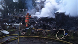 PHOTOS: House destroyed in Federal Way blaze - (5/11)