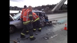 PHOTOS: I-90 hit-and-run sends 1 to hospital - (8/9)