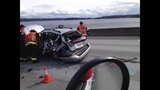 PHOTOS: I-90 hit-and-run sends 1 to hospital - (9/9)