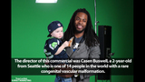 PHOTOS: Commercial shoot photos with Seahawks… - (5/25)