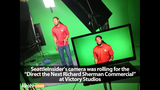 PHOTOS: Commercial shoot photos with Seahawks… - (4/25)