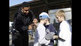 PHOTOS: Seahawks, Sounders players visit Darrington - (2/25)