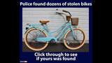 PHOTOS: Dozens of stolen bikes recovered - (19/25)