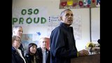 PHOTOS: President Obama tours Oso landslide site - (2/25)