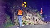 PHOTOS: Mud, debris spills onto SR 169 - (10/11)