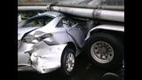 PHOTOS: Car collides with semitruck tanker - (3/4)