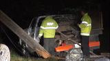 PHOTOS: Man killed, power cut in rollover crash - (8/14)
