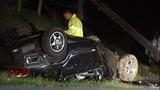 PHOTOS: Man killed, power cut in rollover crash - (12/14)