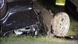 PHOTOS: Man killed, power cut in rollover crash - (1/14)